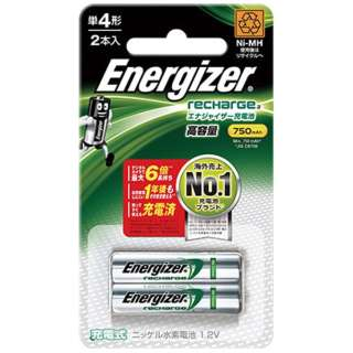 HR-AAA-E2BPA 単4形 充電池 Energizer(エナジャイザー) [2本]