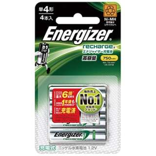 HR-AAA-E4BPA 単4形 充電池 Energizer(エナジャイザー) [4本]