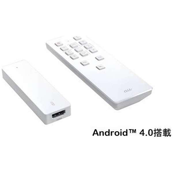 【au純正】Smart TV Stick KTFE1SWA [Android・Wi-Fi / Bluetooth 2.1]