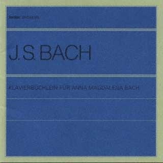 J.S.バッハ:アンナ・マグダレーナのためのクラヴィーア小曲集改訂版 CD
