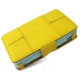 PDAIR Leather Case for Nintendo DS Lite イエロー PALCNDSL-YE 【DS Lite】