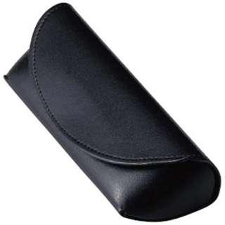 セミハード メガネケース(ブラック)2468-01
