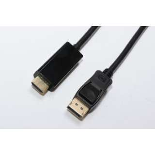DPHD150 DP-HDMIケーブル [1.5m /HDMI⇔DisplayPort]