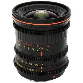 カメラレンズ 11-16mm T3 CINEMA スーパー35mmサイズ(14mm×24mm)用 [キヤノンEF /ズームレンズ]