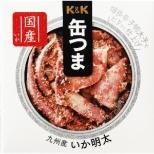 缶つま 九州産 いか明太 40g【おつまみ・食品】