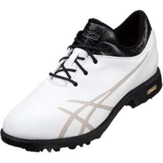 メンズ ゴルフシューズ ゲルエース レジェンドマスター(25.0cm/ホワイト×ブラック)TGN900 0190