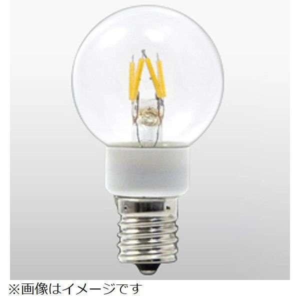 LDG1L-G-E17/27/4 LED電球 G40 クリア [E17 /電球色 /1個 /10W相当 /ボール電球形 /全方向タイプ]