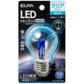 LDA1CB-G-G558 LED装飾電球 PS形 LEDエルパボールmini ブルー [E26 /青色 /1個 /一般電球形]