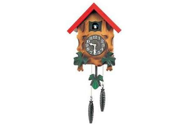 掛け時計のおすすめ21選 リズム時計「カッコーメルビルR」4MJ775RH06
