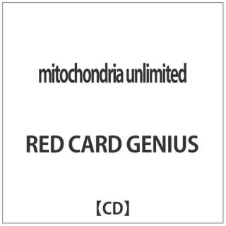 RED CARD GENIUS/ mitochondria unlimited