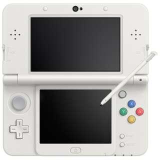 Newニンテンドー3DS ホワイト [ゲーム機本体]
