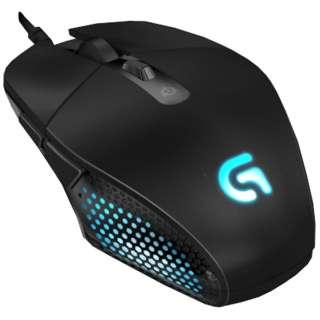 G302 ゲーミングマウス Gシリーズ ブラック  [光学式 /6ボタン /USB /有線]