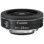 カメラレンズ EF-S24mm F2.8 STM APS-C用 ブラック [キヤノンEF /単焦点レンズ]