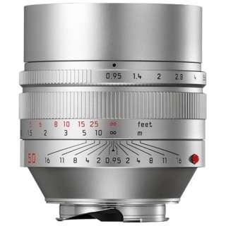 カメラレンズ M F0.95/50mm ASPH. NOCTILUX(ノクティルックス) シルバー [ライカM /単焦点レンズ]