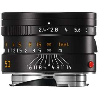 カメラレンズ M F2.4/50mm SUMMARIT(ズマリット) BLACK [ライカM /単焦点レンズ]