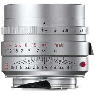 カメラレンズ M F1.4/35mm ASPH. SUMMILUX(ズミルックス) SILVER [ライカM /単焦点レンズ]