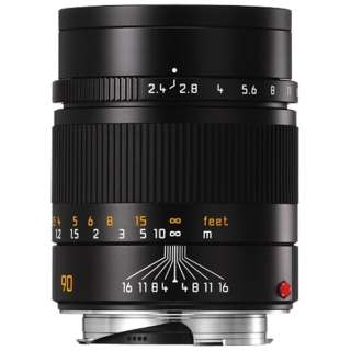 カメラレンズ M F2.4/90mm SUMMARIT(ズマリット) BLACK [ライカM /単焦点レンズ]