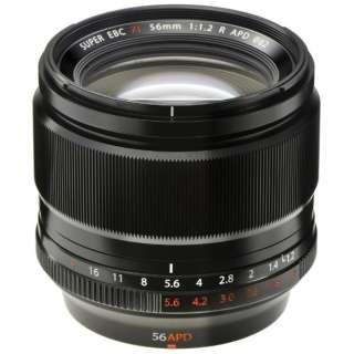 カメラレンズ XF56mmF1.2 R APD FUJINON(フジノン) ブラック [FUJIFILM X /単焦点レンズ]