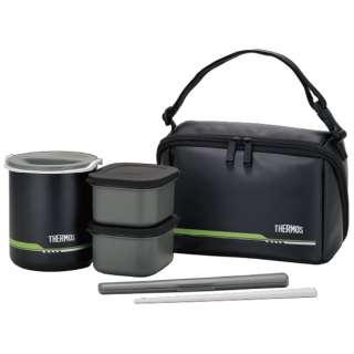 保温弁当箱(茶碗2.5杯分) DBQ-502-MTBK マットブラック