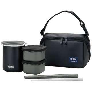保温弁当箱(茶碗1.8杯分) DBQ-362-MTBK マットブラック