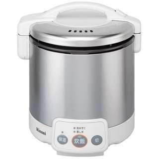 RR-050VM-W ガス炊飯器 こがまる VMシリーズ グレイッシュホワイト [5合 /プロパンガス]