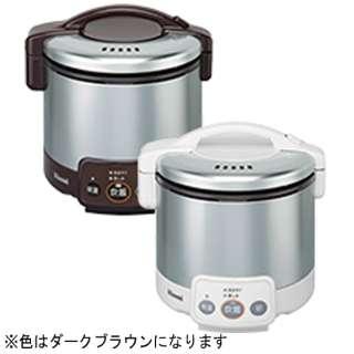 RR-030VM-DB ガス炊飯器 こがまる VMシリーズ ダークブラウン [3合 /プロパンガス]