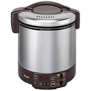RR-100VMT-DB ガス炊飯器 こがまる VMTシリーズ ダークブラウン [1升 /プロパンガス]