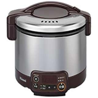 RR-030VMT-DB ガス炊飯器 こがまる VMTシリーズ ダークブラウン [3合 /都市ガス12・13A]