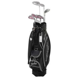レディース ゴルフクラブ 8本セット スポルディング X-EX(キャディバッグ付属)L