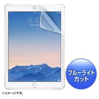 iPad Air 2用 ブルーライトカット液晶保護指紋反射防止フィルム LCD-IPAD6BCAR