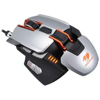 CGR-WLMS-700 ゲーミングマウス 700M シルバー  [レーザー /8ボタン /USB /有線]