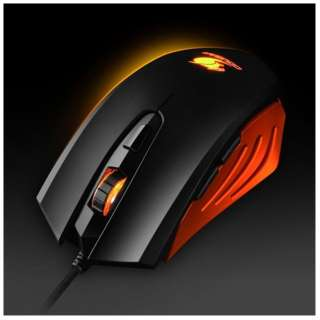 CGR-WOSO-200 ゲーミングマウス 200M オレンジ  [光学式 /6ボタン /USB /有線]