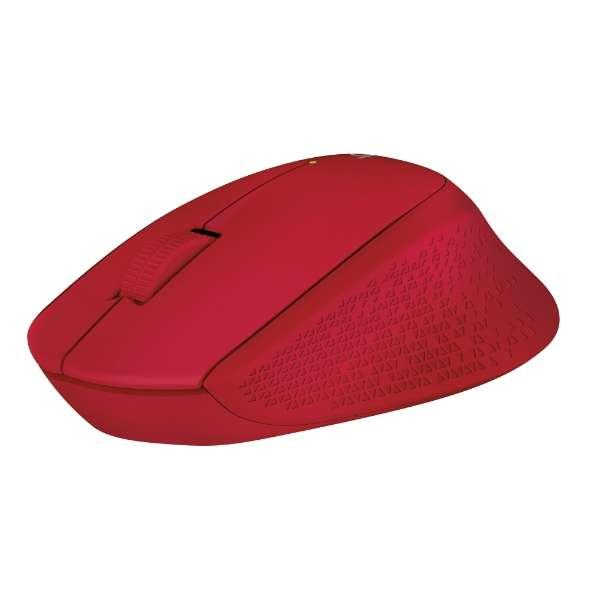 M280RD マウス Wireless Mouse レッド  [光学式 /3ボタン /USB /無線(ワイヤレス)]