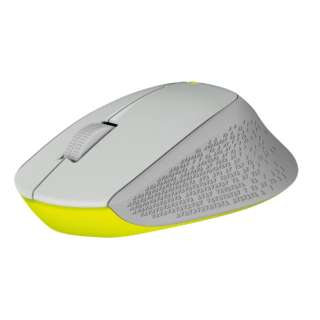M280GY マウス Wireless Mouse グレー  [光学式 /3ボタン /USB /無線(ワイヤレス)]