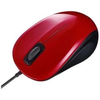 MA-BL9R マウス レッド [BlueLED /3ボタン /USB /有線]