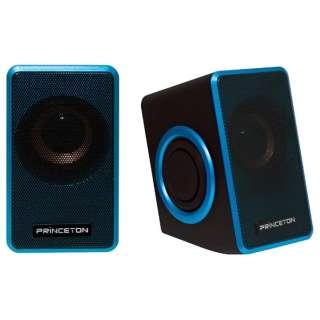 PSP-DPRB デュアルパッシブラジエーター搭載PCスピーカー ブルー [USB電源 /2.0ch]