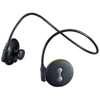 MM-BTSH26 ヘッドセット ブラック [ワイヤレス(Bluetooth) /両耳 /ネックバンドタイプ]