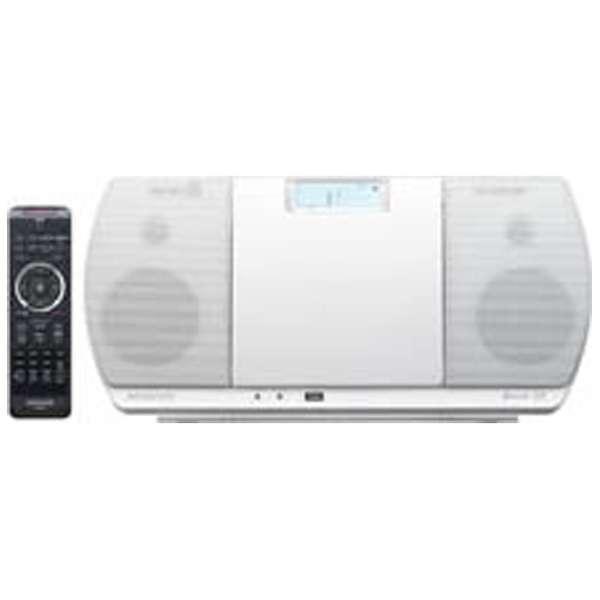 ミニコンポ CR-D3-W [ワイドFM対応 /Bluetooth対応]