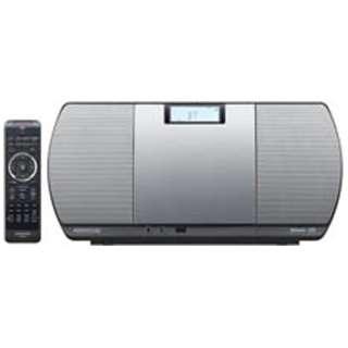 【ワイドFM対応】Bluetooth対応 ミニコンポ(シルバー) CR-D3-S