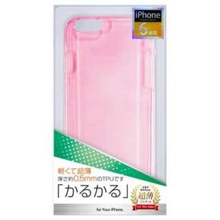 iPhone 6用 TPUジャケット薄型 ピンク ctp-ip06p