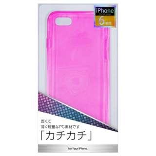 iPhone 6用 PCジャケット ピンク cpc-ip06p