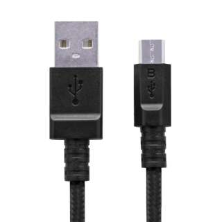 [micro USB]USBケーブル 充電・転送 2A (1.2m・ブラック)MPA-AMBS2U12BK [1.2m]