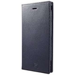 iPhone6用 手帳型レザーケース Full Leather Case LC634 ネイビー GRAMAS LC634NV