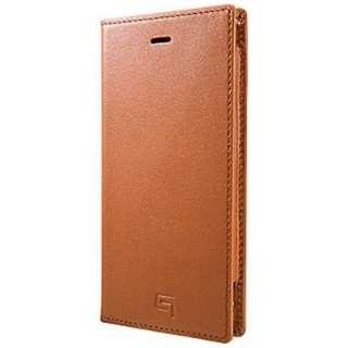 iPhone6用 手帳型レザーケース Full Leather Case LC634 タン GRAMAS LC634TA