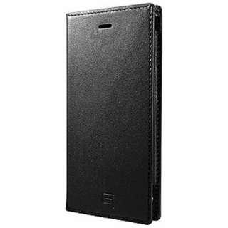 iPhone6用 手帳型レザーケース Full Leather Case LC634 ブラック GRAMAS LC634BK