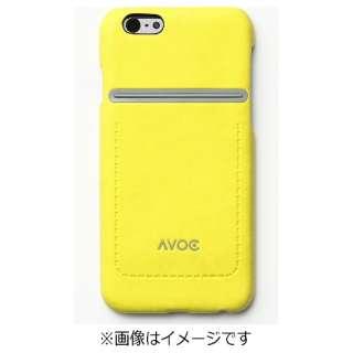 iPhone 6用 Dolomites Bar Case ライムイエロー AA400171