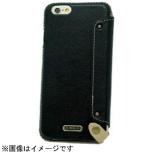 iPhone 6用 レザーケース Flip Case Leather ブラック n.max.n