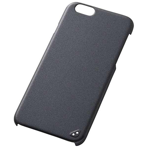 iPhone 6用 ハードコーティング・シェルジャケット パールブラック RT-P7C8/B