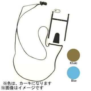 iPhone 6用 DOUBLE FUNCTION カーキ DEFT SPEC