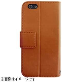 iPhone 6用 レザーケース IC Pocket Leather Case モカ RK-LCA01M